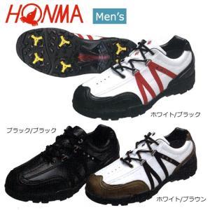 本間ゴルフ(ホンマ) 幅広設計(4E) ゴルフシューズ SS-3101 [HONMA GOLF SO...
