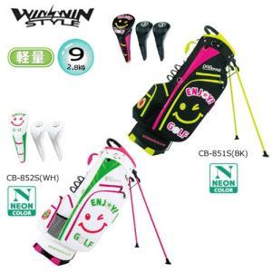 ウィンウィン 9型(軽量/2.8kg) エンジョイ ゴルフ スタンドバッグ&ヘッドカバーセット [WINWIN ENJOY GOLF STAND BAG&HEAD COVER SET]|bright1ststage