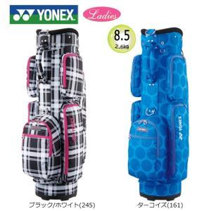 ヨネックス 8.5型 軽量(2.6kg) レディース キャディバッグ CB-6801 [YONEX LADIES CADDIE BAG]|bright1ststage