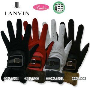 【LANVIN】ランバン VLI0802 レディース 両手用グローブ|bright1ststage