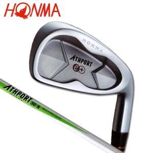本間ゴルフ(ホンマ) アスポートe+ 単品アイアン(#4/R) ATHPORT50 カーボンシャフト [HONMA ATHPORT e+ #4 IRON]|bright1ststage