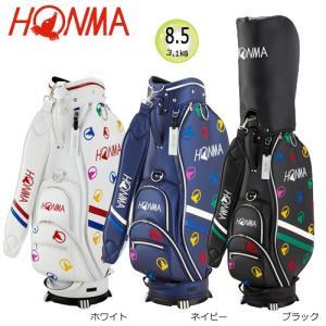 本間ゴルフ(ホンマ) 8.5型(3.1kg) モグラランダム キャディバッグ CB-1816 [HONMA CADDIE BAG CB1816]