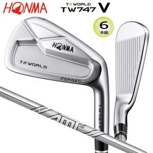 本間ゴルフ(ホンマ) ツアーワールド TW747V アイアン 6本組(#5-#10) AMT ツアー...