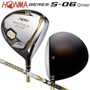 本間ゴルフ(ホンマ/HONMA) ベレス S-06 ドライバー アーマック X 47 3Star★★★ カーボンシャフト bright1ststage