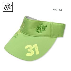 ゾーイ ZOY 071759823 メンズ レディース 男女兼用 帽子 サンバイザー アジャスター付き ゴルフ用品 ゴルフグッズ|bright1ststage