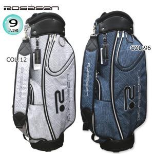 ロサーセン ROSASEN 046-14301 キャディバッグ 9型(3.1kg)47インチ対応 [CART BAG] ゴルフバッグ|bright1ststage