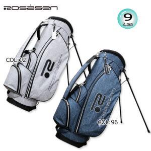 ロサーセン ROSASEN 046-14302 キャディバッグ 9型(2.3kg)47インチ対応 スタンドバッグ [STAND BAG] ゴルフバッグ|bright1ststage