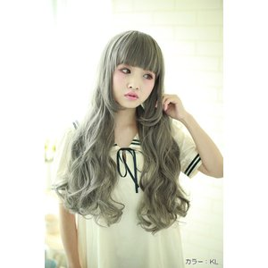 ウィッグ ロング フルウィッグ ロング ウイッグ 姫髪 エクステ ロマンティックドーリーウェーブ ly700 brightlele 05