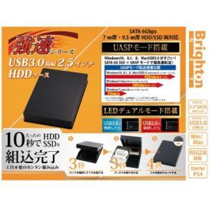 強速シリーズ 2.5インチHDDケース BI-25HDCASEU3 028122 028139|brightonnetshop