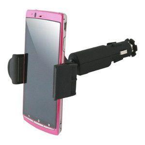USBカーチャージャー付きカーホルダー BM-HOLDERUSB/SH2P|brightonnetshop