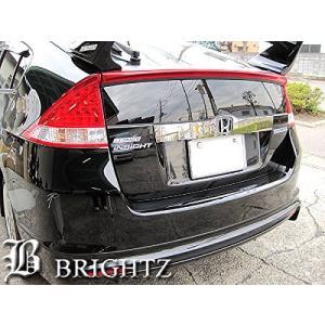 BRIGHTZ インサイト ZE2 超鏡面ステンレスメッキトランクリッドモール Cタイプ