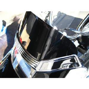 BRIGHTZ フュージョン ヘリックス MF02 フロントショートスクリーン スモークレンズ スタンダードタイプ
