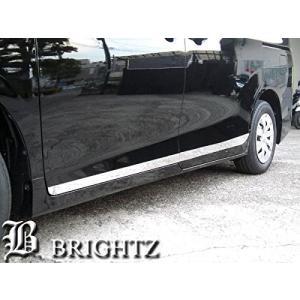 BRIGHTZ ヴォクシー 80 85 超鏡面ステンレスメッキサイドドアモール 4PC Bタイプ CNT-698-EDE