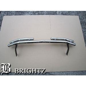 BRIGHTZ ハリアー 10 15 超鏡面ステンレスメッキリアバンパーガード