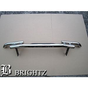 BRIGHTZ プラド 150 151 超鏡面ステンレスメッキリアバンパーガード Dタイプ