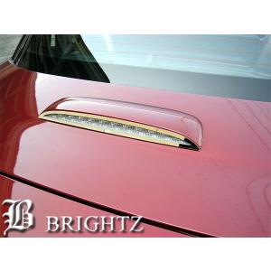BRIGHTZ ロードスター NCEC系 超鏡面ステンレスメッキハイマウントパネル