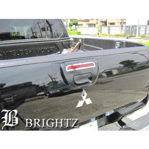 BRIGHTZ トライトン KB9T 超鏡面ステンレスメッキハイマウントパネル