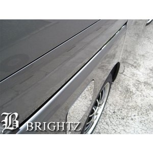BRIGHTZ セレナ C26 超鏡面ステンレスメッキスライドレールパネル 2PC