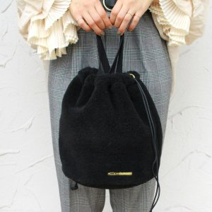ボア 巾着バッグ 2WAY使用 2018aw|brignton-plus
