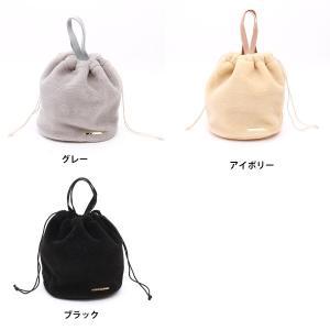 ボア 巾着バッグ 2WAY使用 2018aw|brignton-plus|02