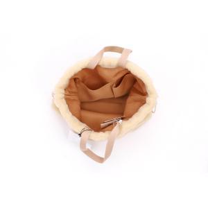 ボア 巾着バッグ 2WAY使用 2018aw|brignton-plus|04