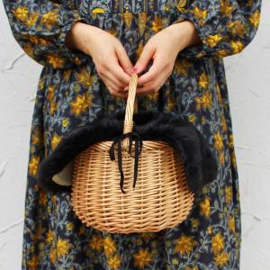 【セット販売】ファー バッグ カバー付き バッケット バッグ 取り外し可能|brignton-plus|04