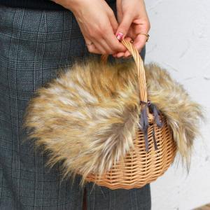 【セット販売】ファー バッグ カバー付き バッケット バッグ 取り外し可能|brignton-plus|06