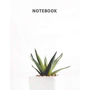 Notebook: Aloe Vera Themed Journal With 120 Pages of Lined Paper|brigshop