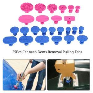 Yosoo 凹み吸盤 車デントリペア 異なる形状 デント修復ツール 車へこみ修理 凹み修理工具 ナイロン 吸盤 DIY修理工具 (凹み吸盤(25個))|brigshop