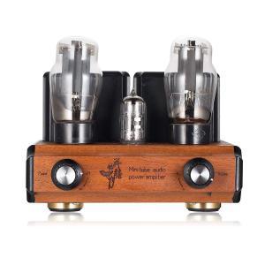 Mini 12AX7 + 6L6 真空管アンプ HiFi ステレオ オーディオ クラスA シングルエンド アンプ|brigshop