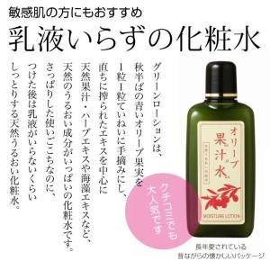 日本オリーブ グリーンローション 果汁水 180ml おすすめ|brillerjapan|02