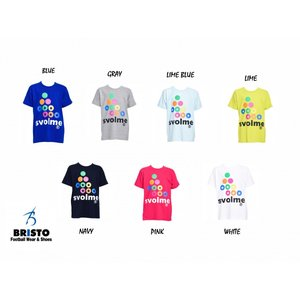 SVOLME ロゴTシャツ Jr用 [163-92510] |bristo-futpasio