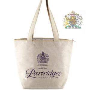 英国御用達高級スーパー・パートリッジ ロンドン/Partridges London保冷バッグ【宅配便送料無料】