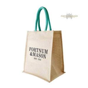 フォートナム&メイソン/Fortnum & Mason エコバッグ(取外し可能なボト...