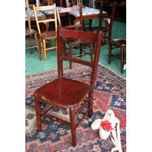 イギリスアンティーク家具 キッズチェア 子供椅子173-4 英国製 1960年頃 送料無料