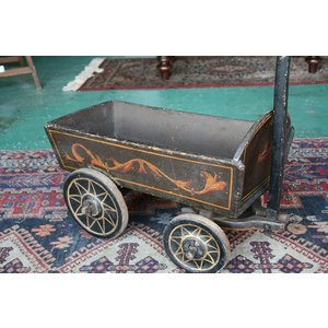 イギリスアンティーク家具 ドック/カート台車3  英国製 1890年頃 送料無料|british-life