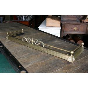 イギリスアンティーク家具 ファイヤーフェンダー暖炉枠f1 英国製 1900年頃 送料無料|british-life