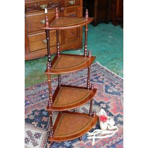 イギリスアンティーク家具 コーナー飾り棚 コーナー/ディスプレイ 飾り棚 h134 英国製1960年頃 送料無料|british-life