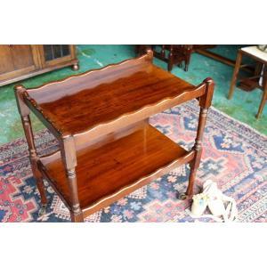 イギリスアンティーク家具 アンティークトローリー ティートローリー トローリーワゴン n162 英国製1920年頃 送料無料|british-life