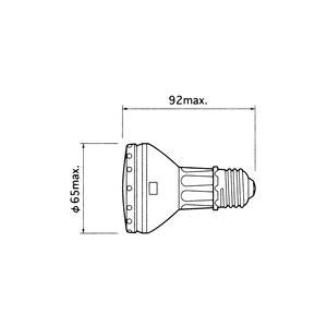 CDM-R 35W/830 PAR20 30° フィリップス コンパクトメタルハライドランプ (リフレタクタータイプ) britone 02
