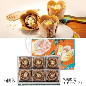TOKYOチューリップローズ チューリップローズ モンブラン (6個入) 秋季限定※包装不可・夏期クール便推奨の画像