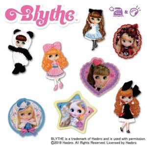 ワッペン ブライス Blythe アイロン シール かわいい 刺繍 キャラクター マーク プレゼント 服|broderie01