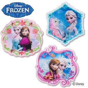 ワッペン アナと雪の女王 ラインストーン 大 ディズニー アイロン シール かわいい 刺繍 キャラクター グッズ プレゼント 服|broderie01