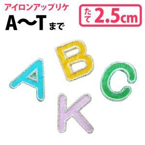 カラフルアルファベット 大文字A から T|broderie01