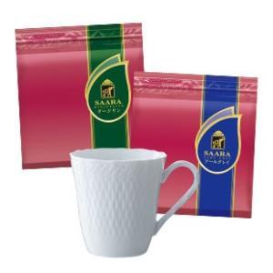 紅茶 ダージリン アールグレイ ノリタケ ティーカップ マグ SAARA×ノリタケ シェールブランマグセット ブルックス BROOK'S|brooks