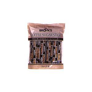 ミルク・砂糖・フィルター ブルックス ブルックスコーヒーシュガースティック6g 20本