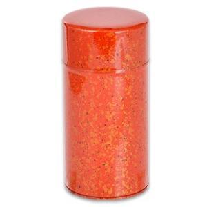 ブルックス おこのみ茶筒 葵塗り(赤)|brooks