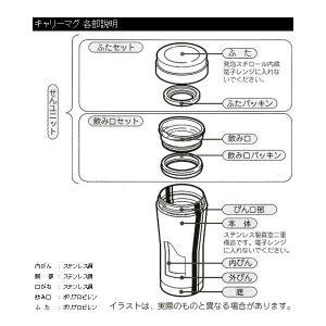 ブルックスオリジナル キャリーマグ 340ml [タンブラー 携帯用ボトルマグ ステンレス製真空二重構造 保温・保冷 BROOK'S BROOKS|brooks|03