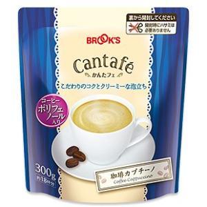 コーヒー 珈琲 カプチーノ 大袋 300g かんたフェ ブルックス BROOK'S|brooks