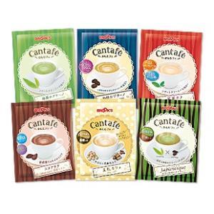 かんたフェ 秋のふんわり6種セット 抹茶 珈琲 コーヒー 紅茶 ココア 豆乳 インスタントコーヒー ブルックス BROOK'S|brooks